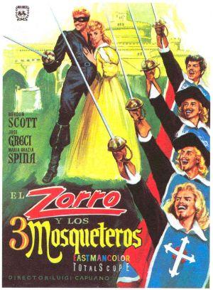 poster Zorro e i tre moschettieri (1963)