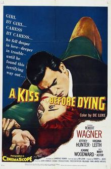 poster A Kiss Before Dying (1956)