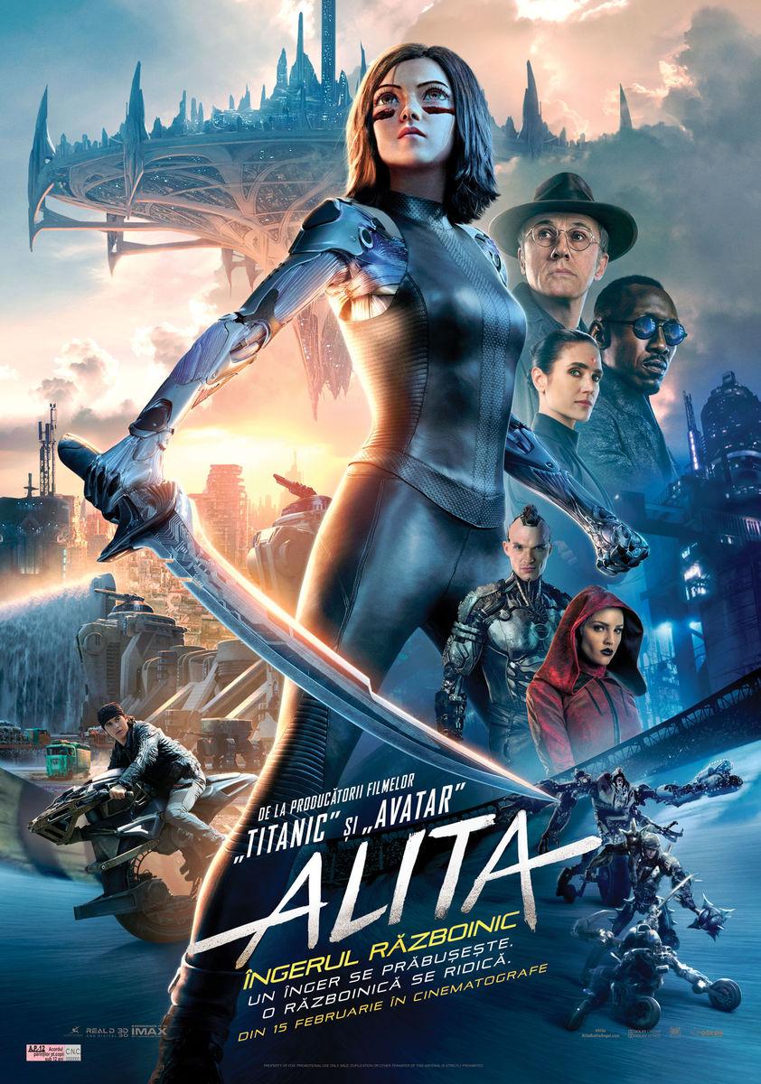 poster Alita Battle Angel (2019)