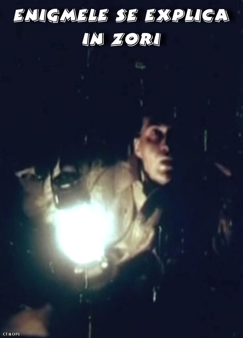 poster Enigmele se explica in zori (1987)