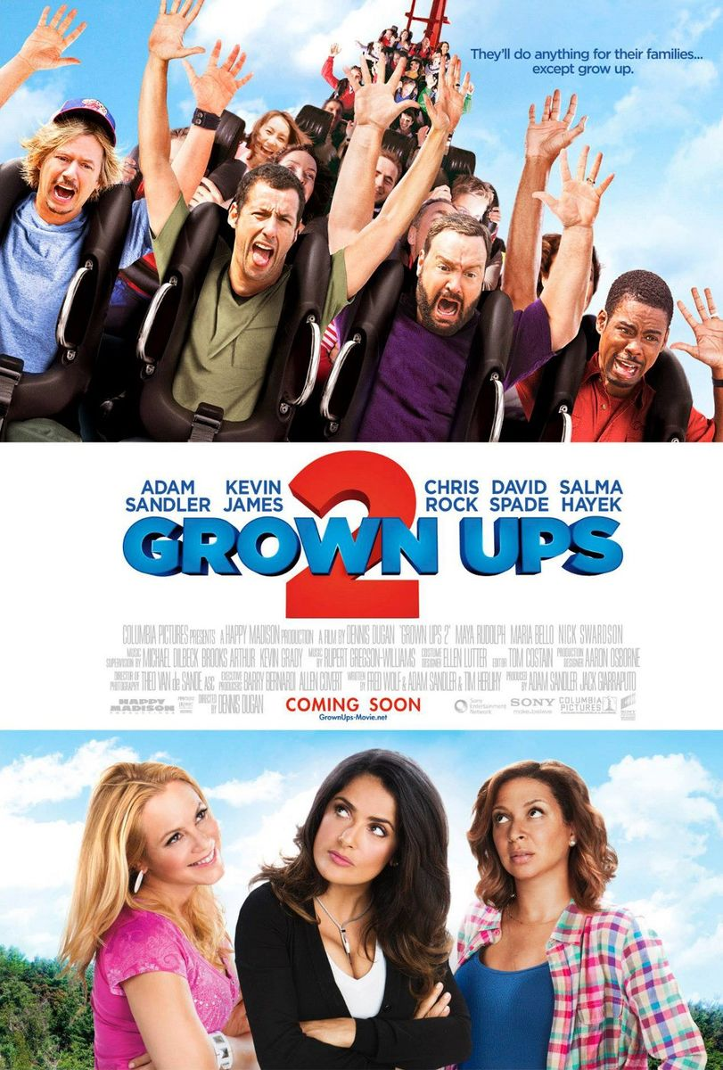 poster Grown Ups 2 (2013)