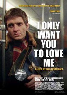 poster Ich will doch nur, dass ihr mich liebt (1976)