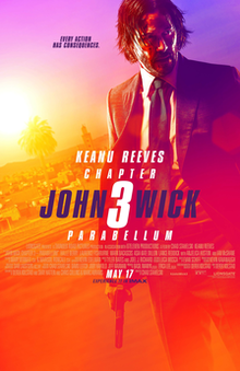 poster John Wick Chapter 3 - Parabellum (2019)