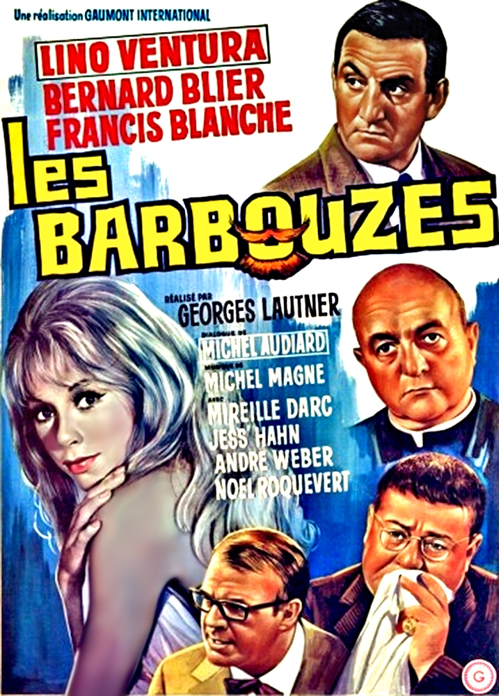 poster Les Barbouzes (1964)