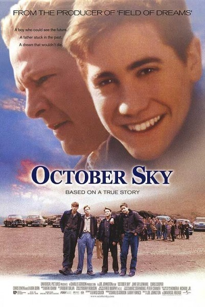 poster October sky (1999)