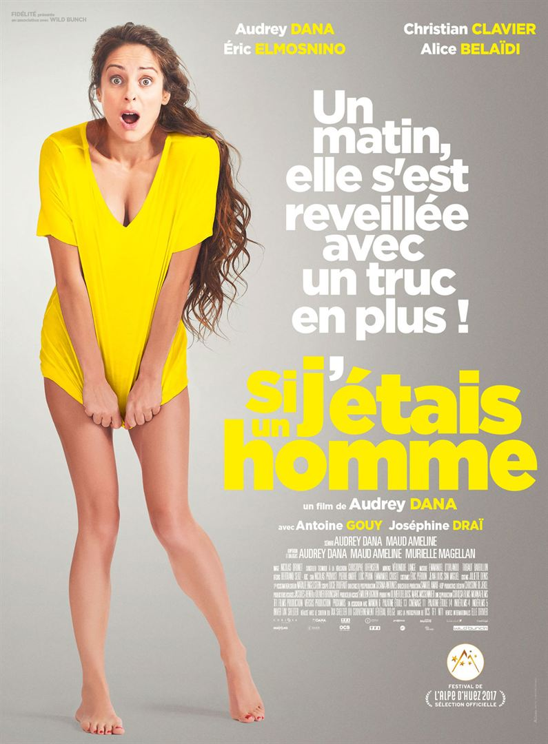 poster Si j'etais un homme (2017)