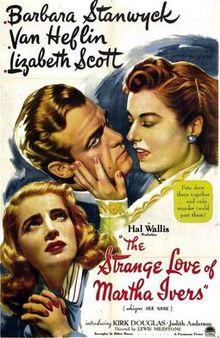 poster The Strange Love of Martha Ivers (1946)