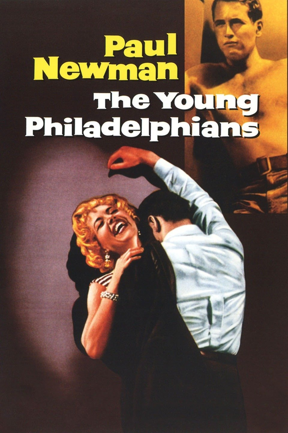 poster The Young Philadelphians (1959)