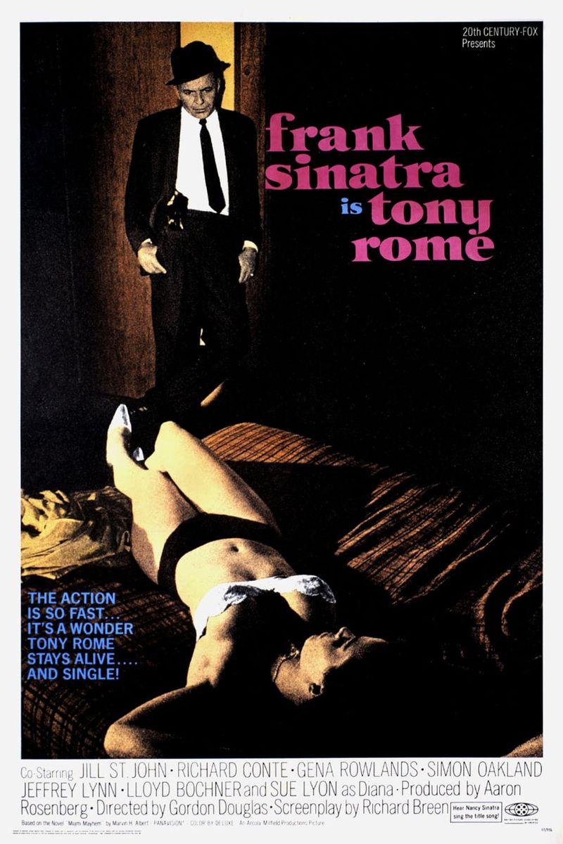 poster Tony Rome (1967)