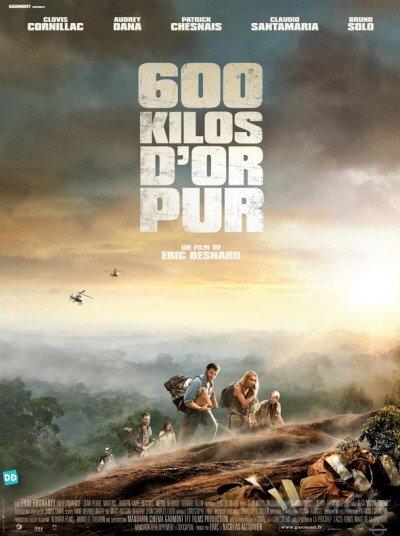 poster 600 kilos d'or pur (2010)
