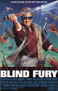 poster Blind Fury (1989)