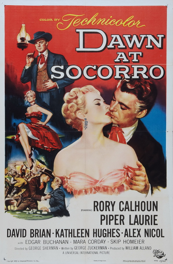 poster Dawn at Socorro (1954)
