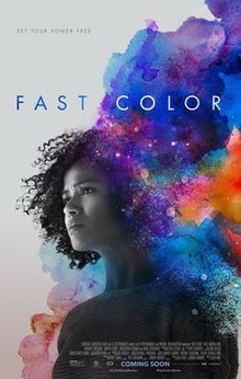 poster Fast Color (2018)