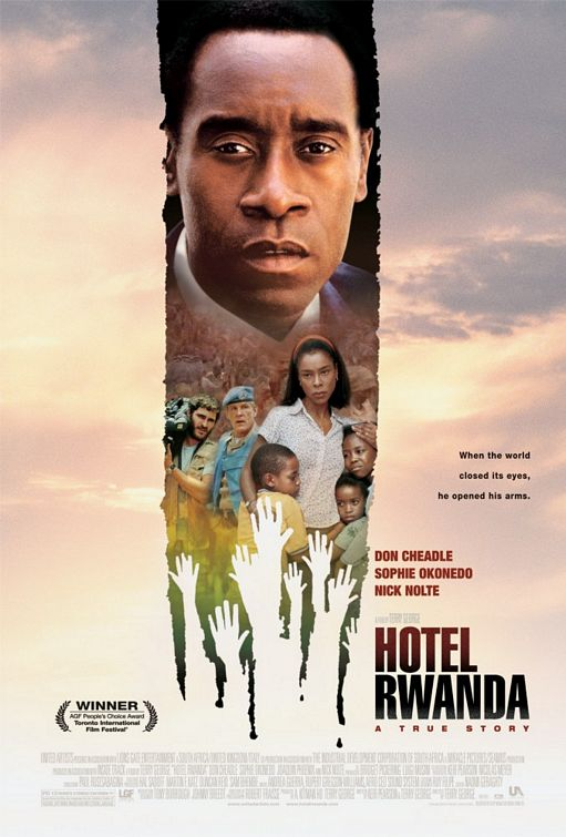 poster Hotel Rwanda (2004)