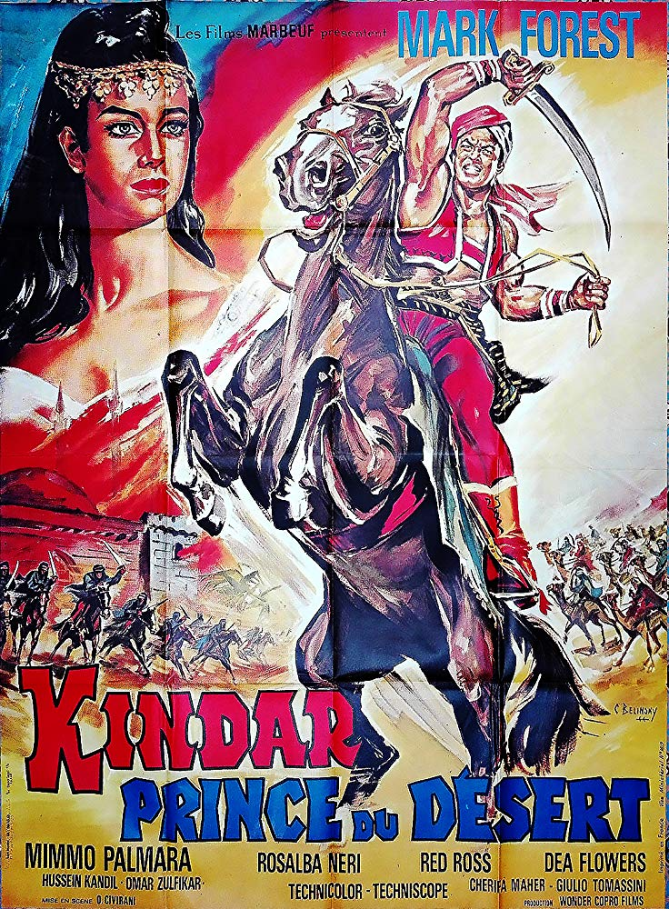 poster Kindar the Invulnerable (1965)