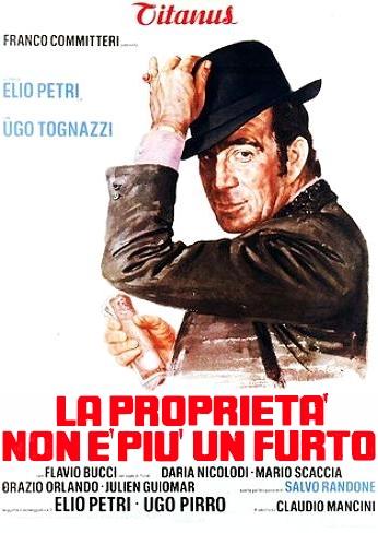 poster La proprieta non e piu un furto (1973)