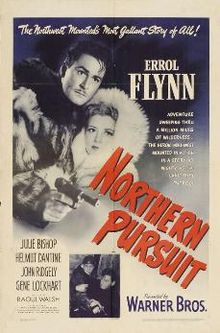poster Northern Pursuit (1943)