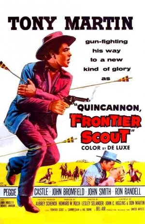 poster Quincannon, Frontier Scout (1956)
