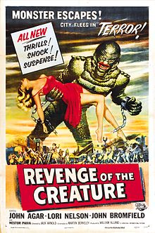 poster Revenge of the Creature (1955)