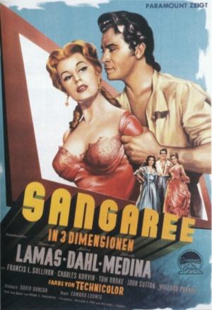 poster Sangaree (1953)