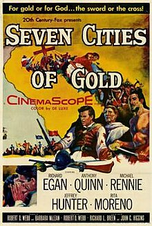 poster Seven Cities of Gold (1955)