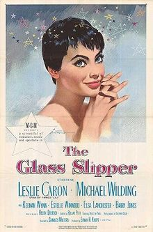 poster The Glass Slipper (1955)