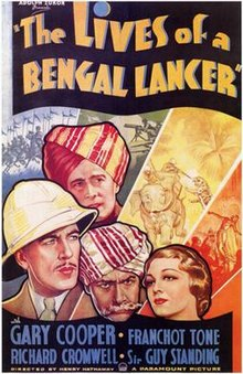 poster The Lives of a Bengal Lancer (1935)