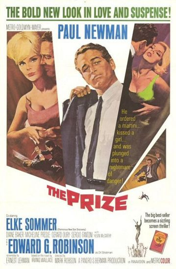 poster The Prize (1963)