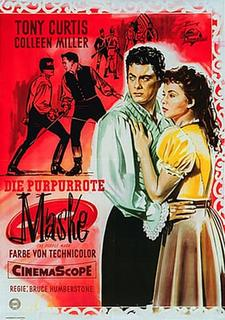 poster The Purple Mask (1955)