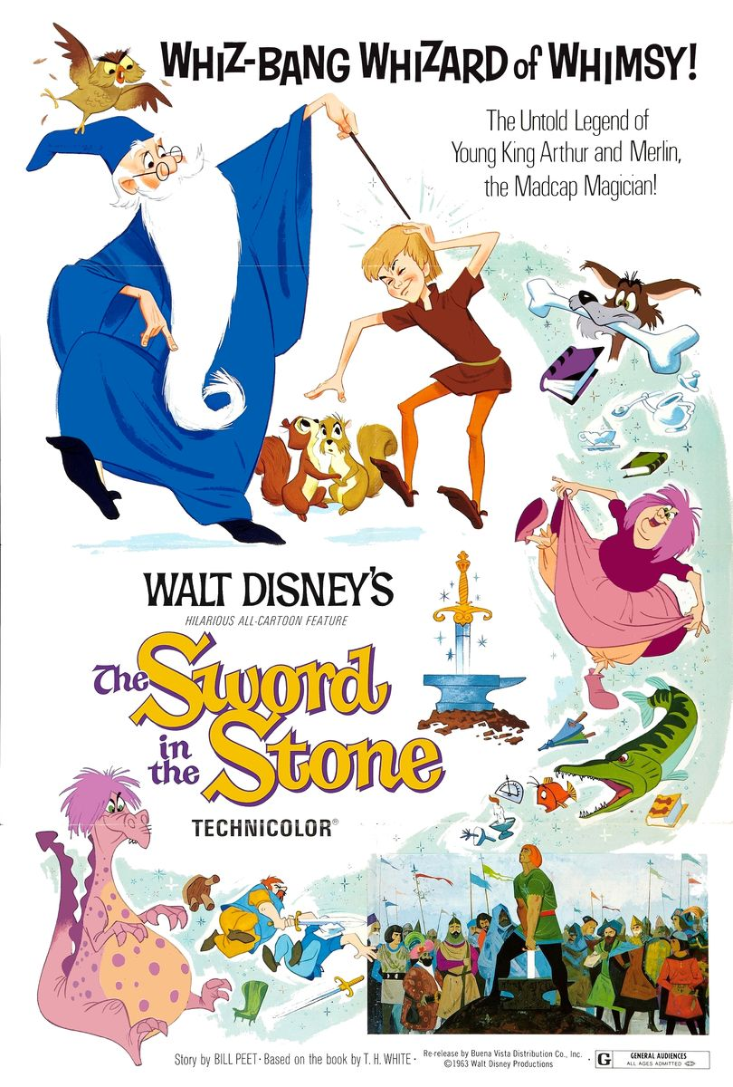 poster The Sword in the Stone (1963)