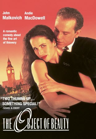 poster The object of beauty (1991)