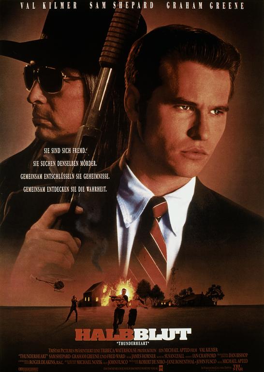 poster Thunderheart (1992)