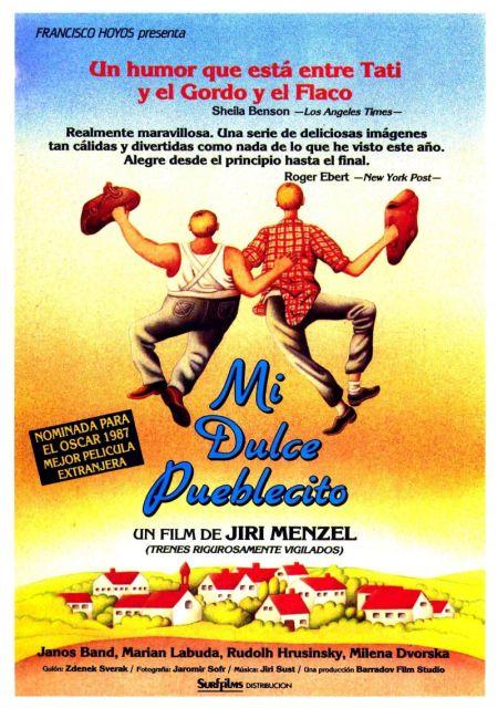 poster Vesnicko ma strediskova (1985)