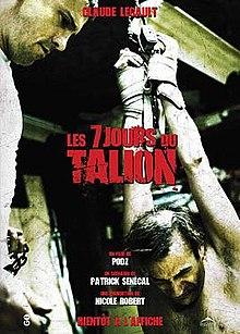 poster 7 Days (Les 7 jours du Talion) (2010)