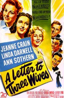 poster A Letter to Three Wives (1949)