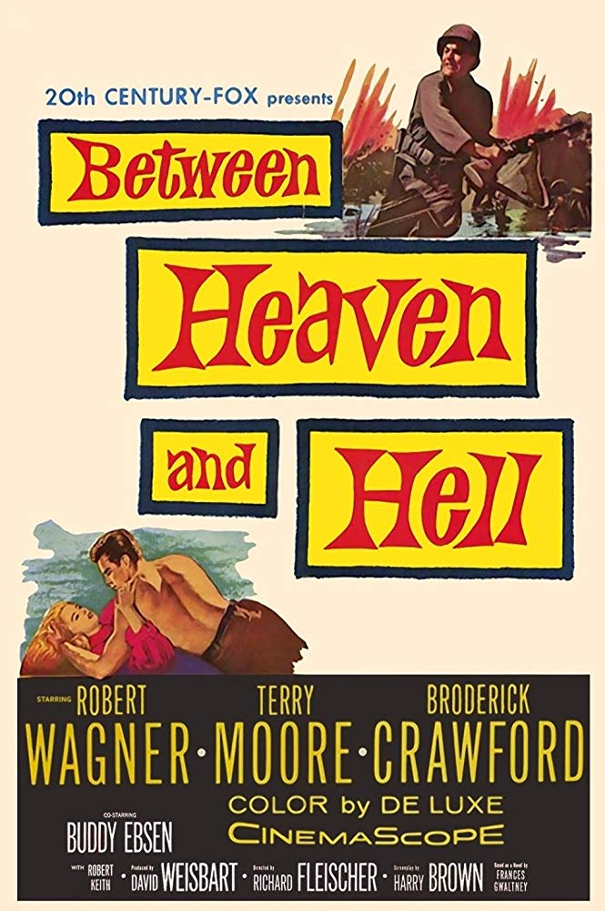 poster Between Heaven and Hell (1956)
