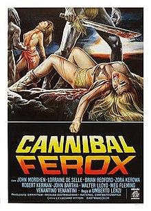 poster Cannibal Ferox (1981)