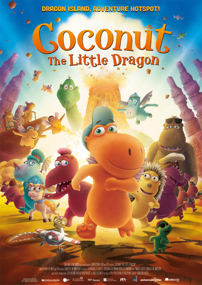 poster Coconut the Little Dragon (2014)