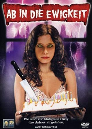 poster Happy Birthday to Me (1981)