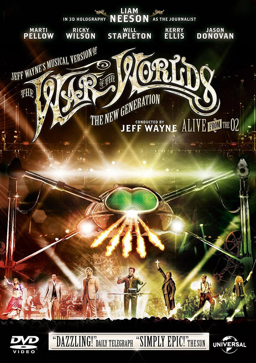 poster Jeff Wayne's Musical Version of 'The War of the Worlds' (2006)