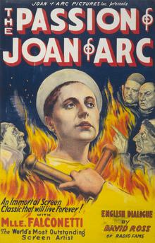 poster La Passion de Jeanne d'Arc (1928)