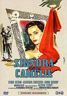 poster La signora senza camelie (1953)