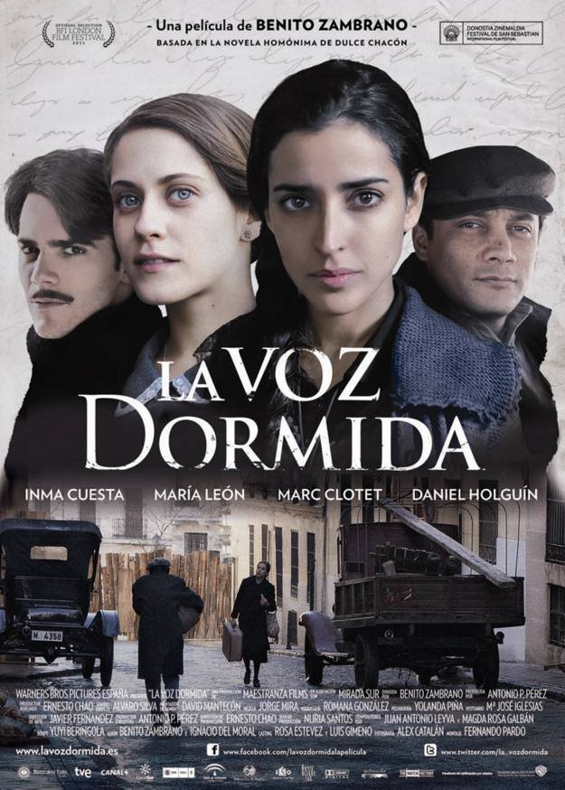 poster La voz dormida (2011)