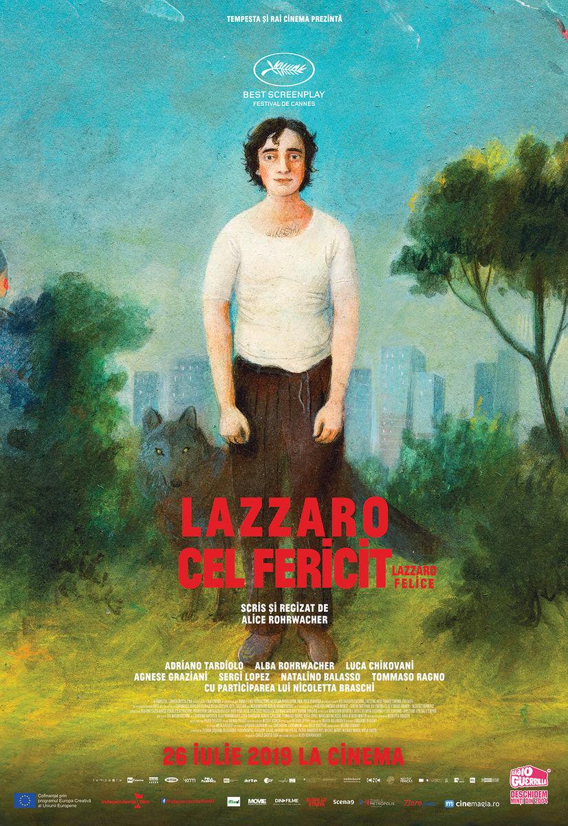 poster Lazzaro felice (2018)