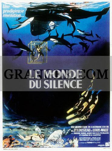 poster Le monde du silence (1956)