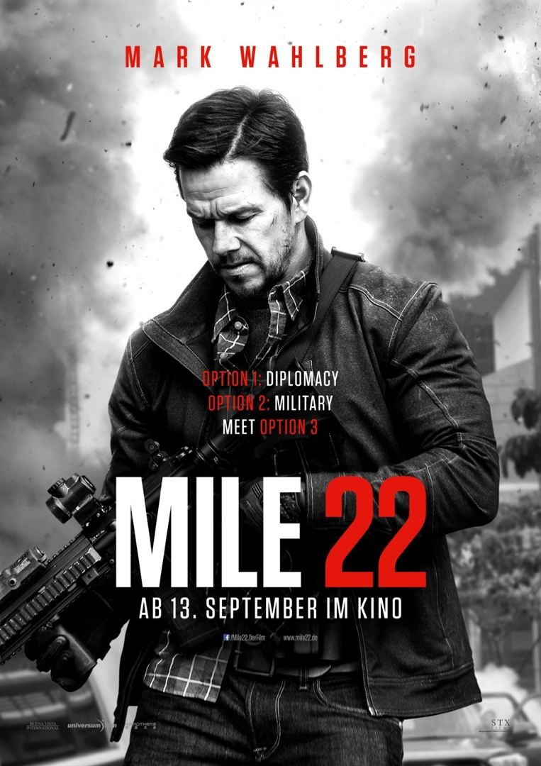 poster Mile 22 (2018)
