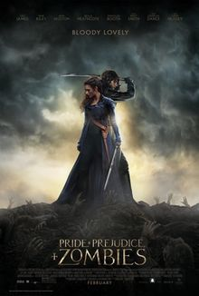 poster Pride and Prejudice and Zombies (2016)