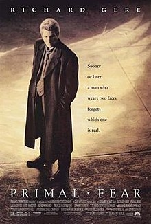 poster Primal Fear (1996)