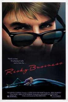 poster Risky Business (1983)
