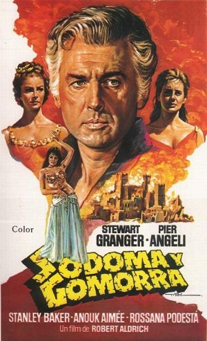 poster Sodom and Gomorrah (1962)